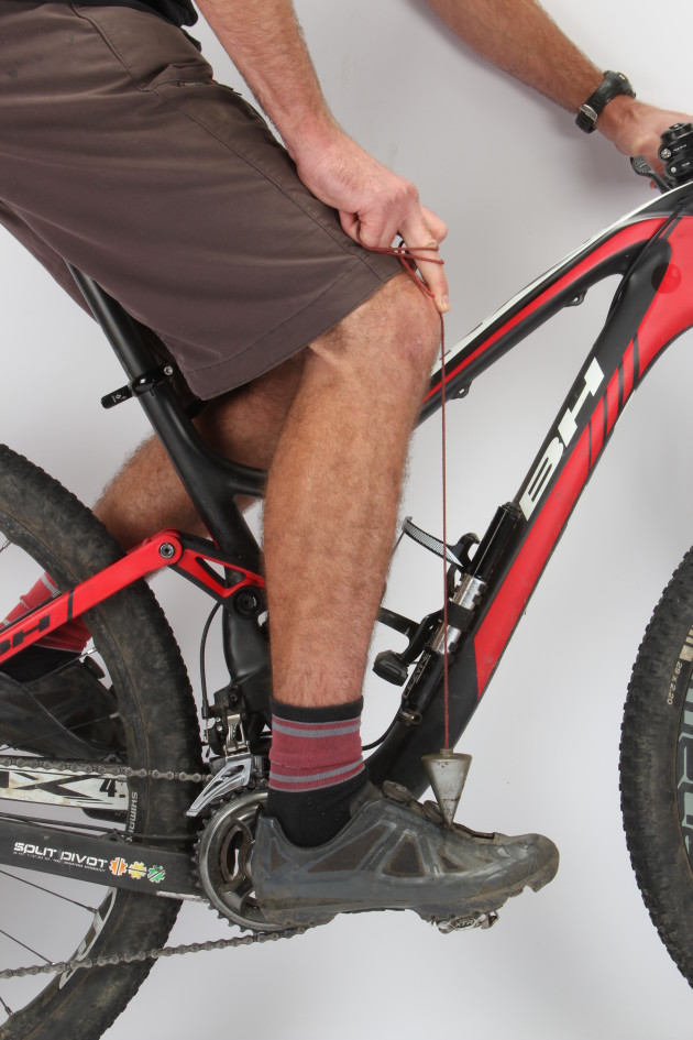 A forward saddle position will assist when climbing but don't take it