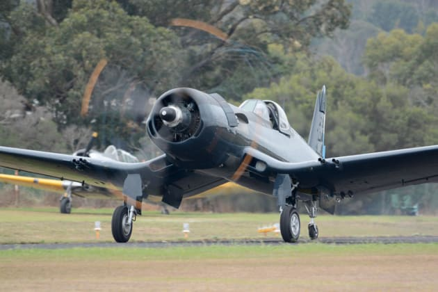 Warbirds without civil history will transition to the Limited category under the new Part 132. (Steve Hitchen)