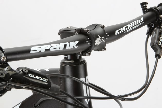 While the ENR is relatively affordable for such a unique machine, the component spec is pretty solid with Spank parts featuring throughout.