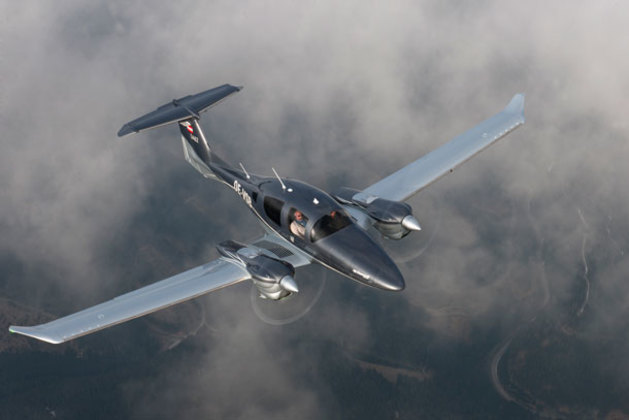 Diamond's DA62 is sleek, sexy and powerful. (Diamond Aircraft)
