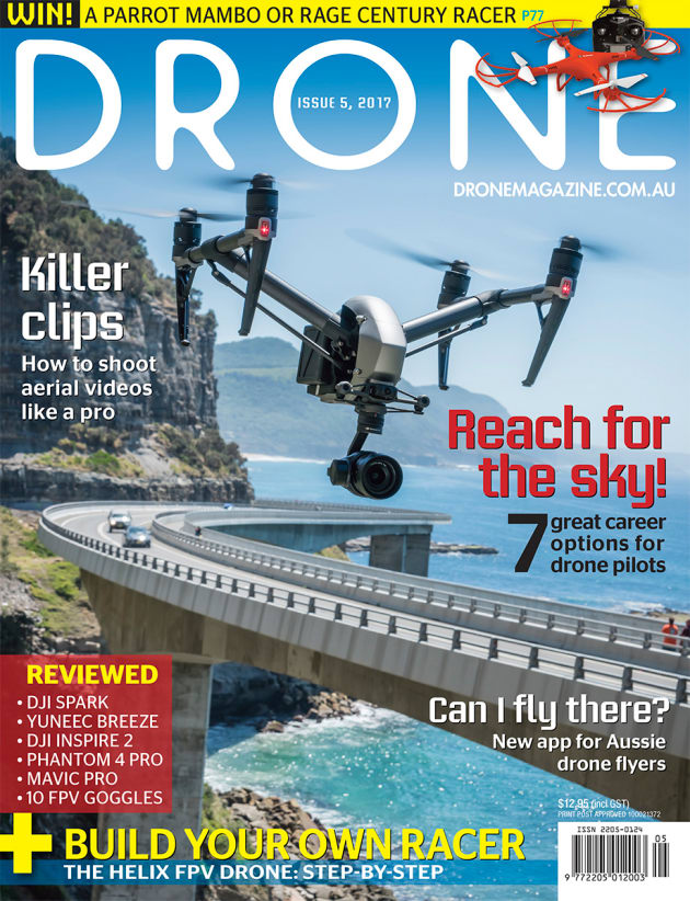 Drone Magazine, Issue 5, is out now!
