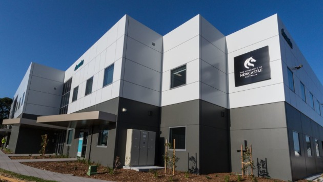 Located at the Williamtown Aerospace Centre, DSA-18 Hub represents a significant investment by the University in the development of the Hunter region's future workforce. Credit: UON