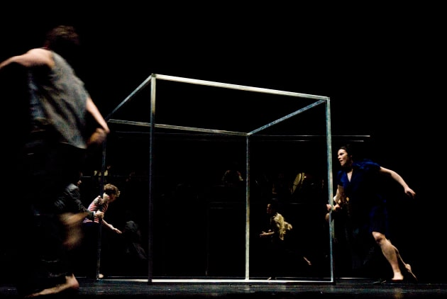 Caption: Paea Leach (right) in 'Babel' by Sidi Larbi Cherkaoui and Damien Jalet.  Photo: Maarten Vanden Abeele