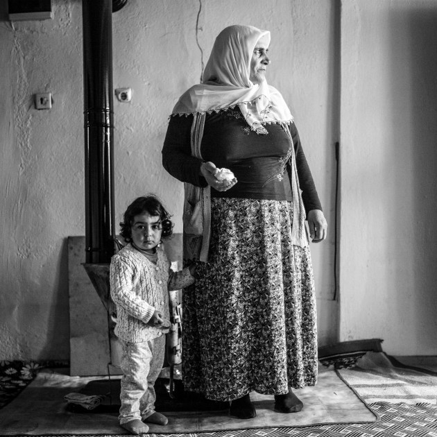 "Fatma. Karasu Village, Turkey, 2015. ""Peace means living together in peace."""