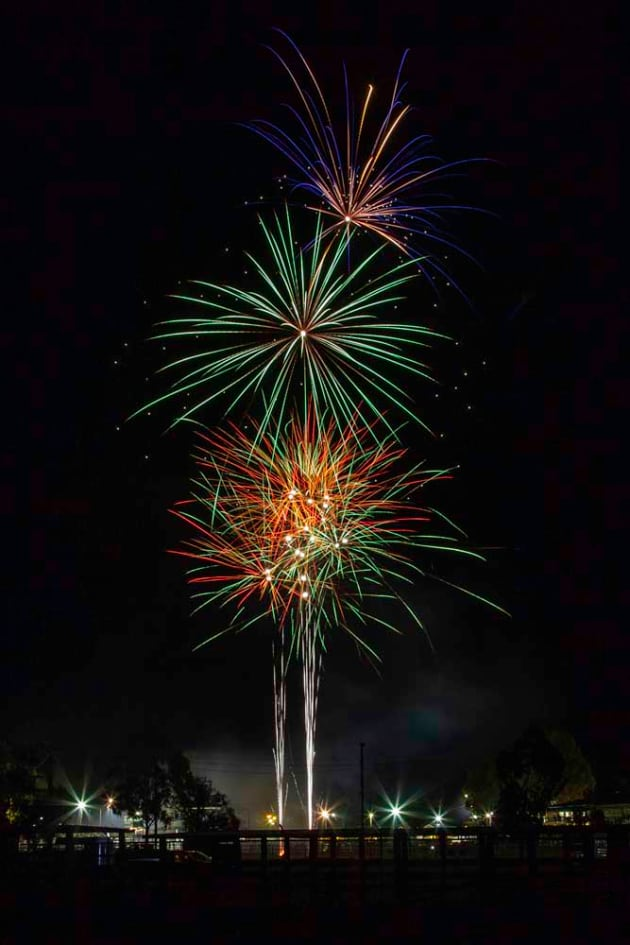 Fireworks by Karen Johnson
