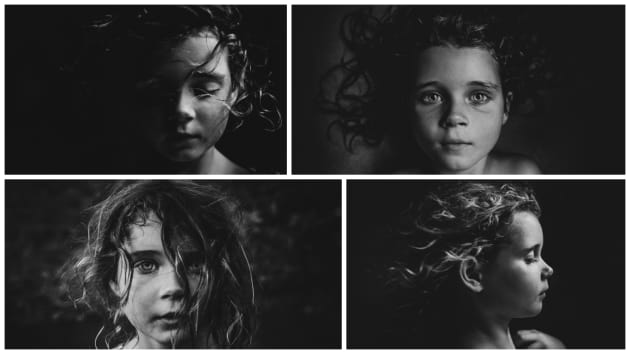 Helen Whittle's winning portfolio featured her daughter Minnie. Shot entirely in Black and White and with available light, her images were a great example of a cohesive series.
