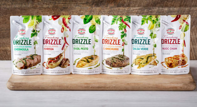 Gourmet Garden Finishing Drizzle Full Range