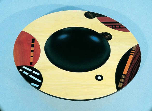 Greg Collins, Licorice Allsorts, Huon pine with inlay, 1998. Photo: Greg Collins