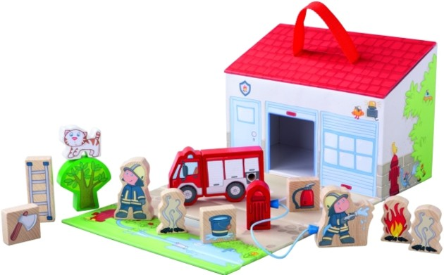 HABA slow toy winner, the My First Play World Fire Brigade (distributed in Australia by Rose & Lily).