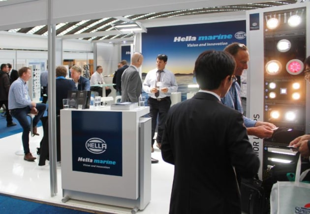 Hella Marine is one of a handful of companies to have exhibited at every METSTRADE since 1968. This year the company will be releasing its new EuroLED 95 downlights which are also nominated for a DAME Design Award.