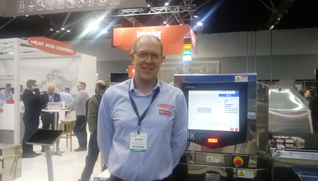 Heat and Control's Greg Pyne demonstrated a range of X-ray systems and metal detectors from Ishida and CEIA which can safely inspect products for foreign matter such as bone, stone, and glass. Also attracting visitors to the stand was an augmented reality (AR) app which enabled them to explore a fully operational HeatWave Fryer on their tablet or smartphone.