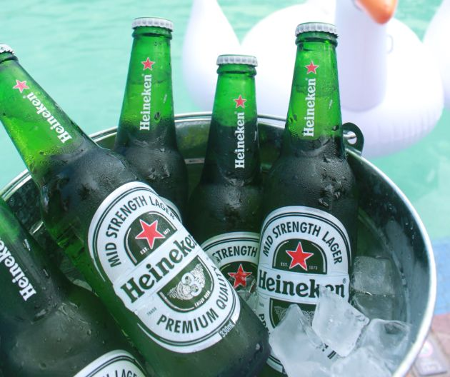 target of heineken Volatile markets and an acquisition in brazil prompted the world's second largest brewer heineken to volatile markets prompt heineken to lower margin growth target.