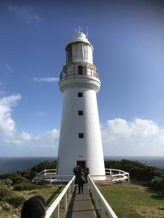 As part of the Life's An Adventure tour, the group had access to Cape Otway Lighthouse.