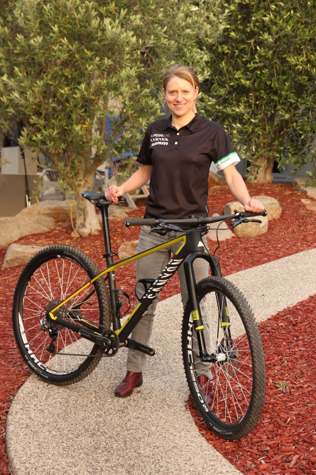 Canyon is also supporting Aussie riders and Jenni King has already been winning National Series rounds aboard her Canyon Exceed CF.