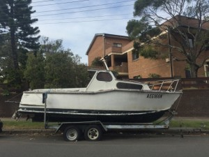 The NSW Government has announced a crackdown on street parking for boat trailers.