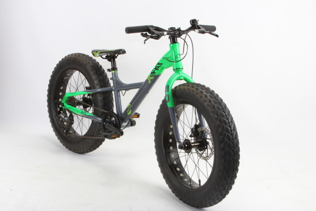 A 20-inch fatbike - cool eh? The XXfat 20 is recommended for riders over 125cm.