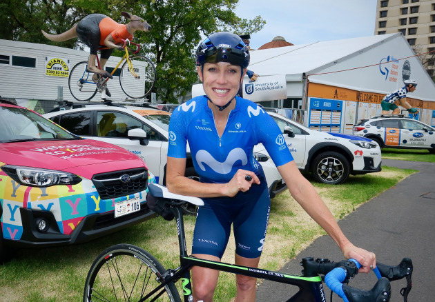 Movistar rider Rachel Neylan will be competing in the inaugural UniSA Women's Tour Down Under team and says this edition of the race is set to be the most thrilling yet.