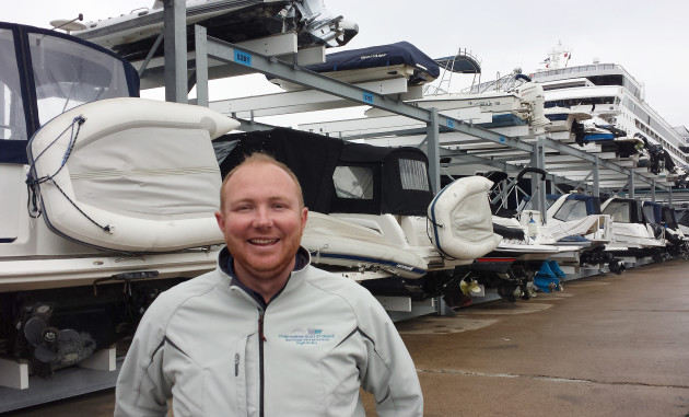"""Our goal from the start has been to make it transparent and make it customer-focused,"" - Jeremy Rose at Sydney  Harbour Boat Storage."