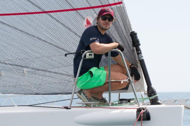 RFBYC is encouraging youth to sail offshore. Photo Bernie Kaaks.