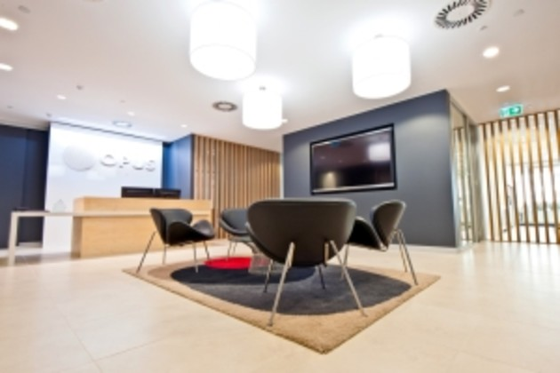 Opus Fit Out Via Staples Business Interiors.