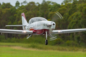 Gary Weeks' Lancair Legacy 500. (John Absolon)