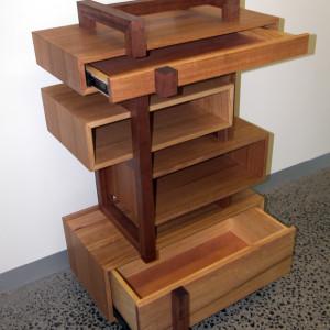 Electronics Storage Unit - Australian Wood Review