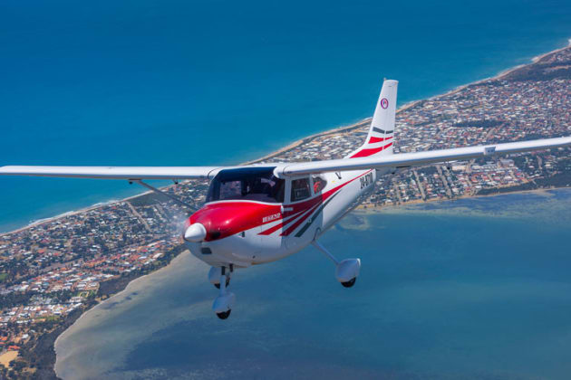The Legend 600 LSA in flight near Serpentine WA. (John Absolon)