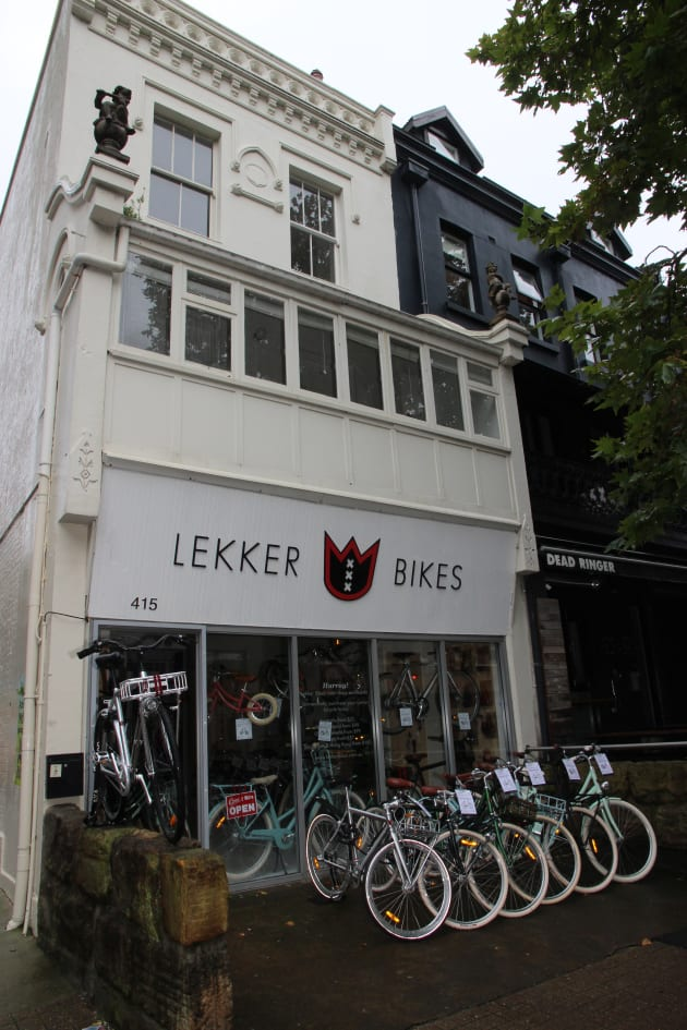 This very European style Lekker store is about two kilometres from the centre of Sydney.