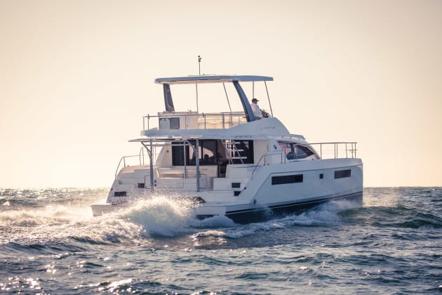 The Leopard 43 Powercat set to be shown at SCIBS is pre-sold.