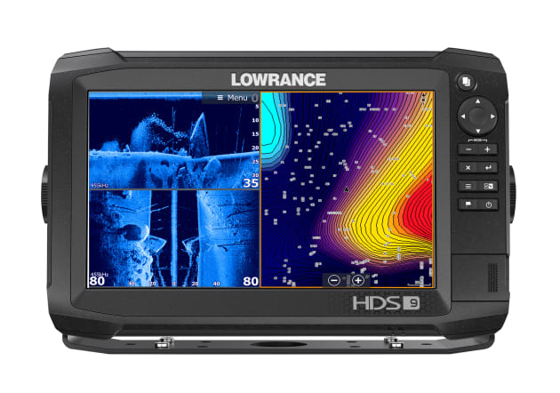 The nine inch (22.9cm) version of the Lowrance HDS Carbon.