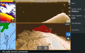 Lowrance StructureScan 3D adds detailed contour views to HDS Gen3 displays.
