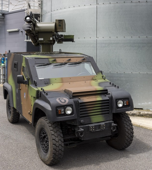 The MMP system mounted on a French Army Petit Véhicule Protégé (PVP). Credit: MBDA