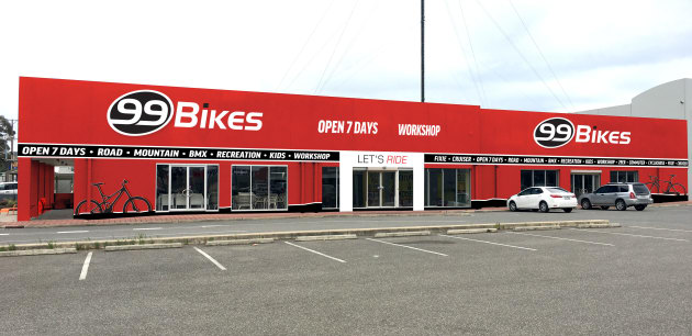 The New 99 Bikes Location In Adelaides Southern Suburb Of Marion