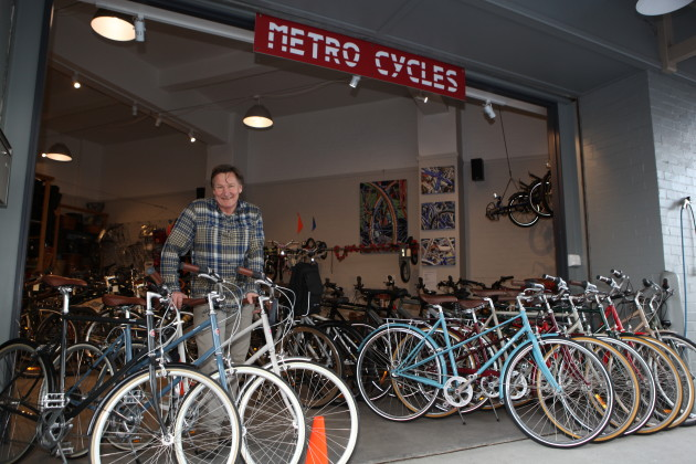 Metro cycles is a lycra and sports cycling free zone.