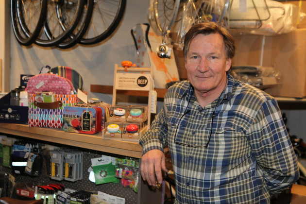 Bernard Hockings had 38 successful years in the building trade before opening Metro Cycles at one point employing around 20 staff.