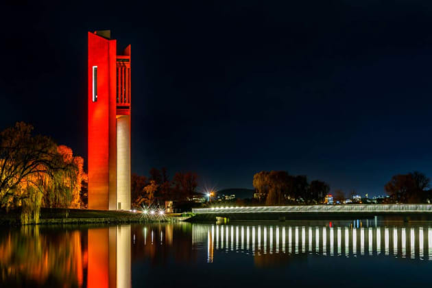 National Carillon Canberra by Bradley Schulz