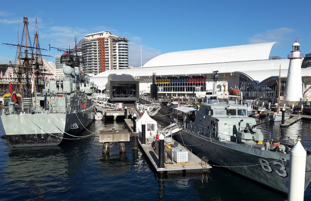 The Australian National Maritime Museum at Darling Harbour.