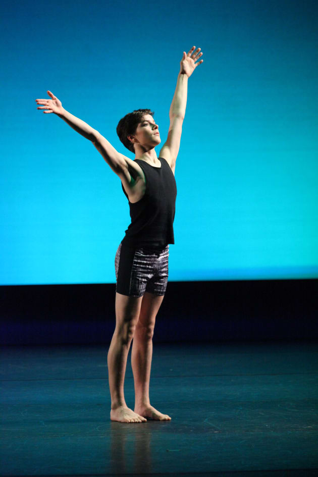 Noah Benzie-Drayton, pictured here as winner of the Junior Male and Grishko awards. Photo: David Mueller Dance Photography.