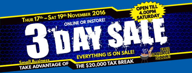 Hafco Sale banner 2016