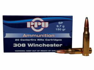 This new PPU ammo comes in distinctive blue 20-round boxes in many different chamberings,