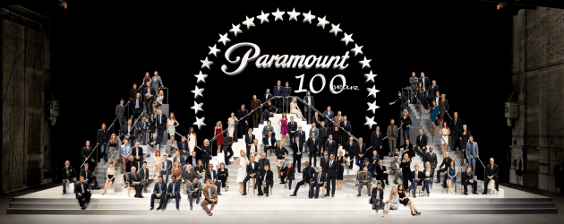 The group portrait celebrating the 100th Anniversary of Paramount Studios. © Art Streiber.