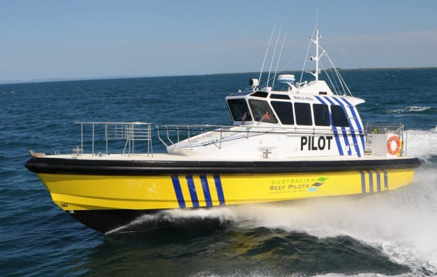 Launched in September 2012, this 14.2m Pilot Boat was designed and built by Norman R. Wright & Sons for the Australian Reef Pilots (ARP) for its pilotage operations from the Port of Cairns.