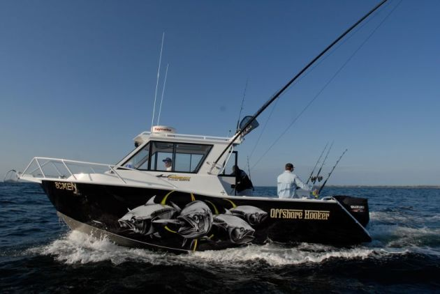 Review phoenix boats fishing world for Offshore fishing boat manufacturers