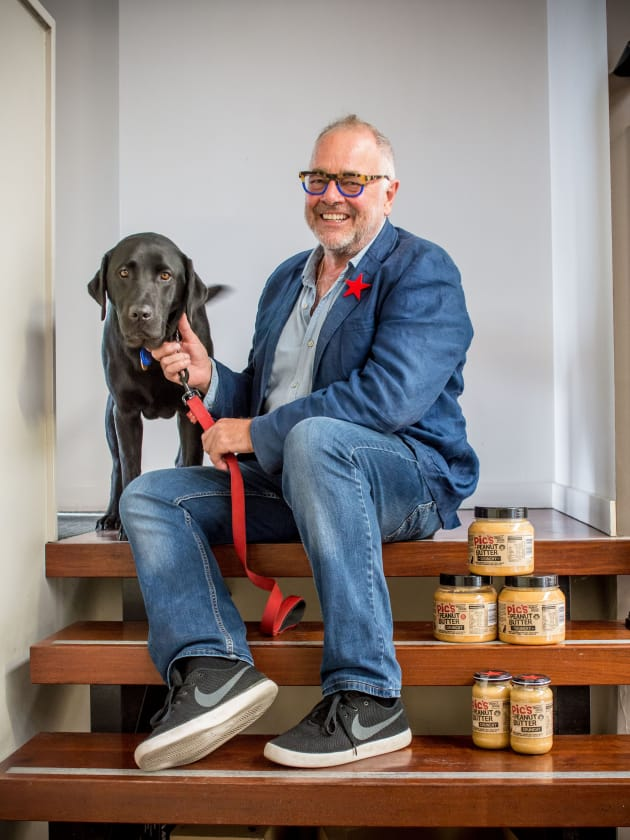 Bruce Picot, the founder of Pic's Peanut Butter