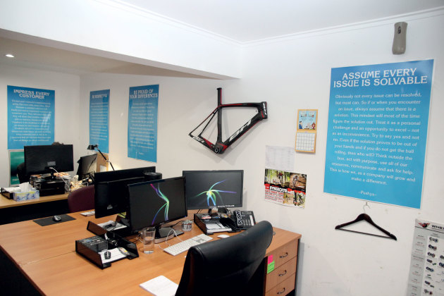 Pushing the envelope bicycling trade these posters in pushys offices are not bought from office works like some of the motivational gumiabroncs Gallery