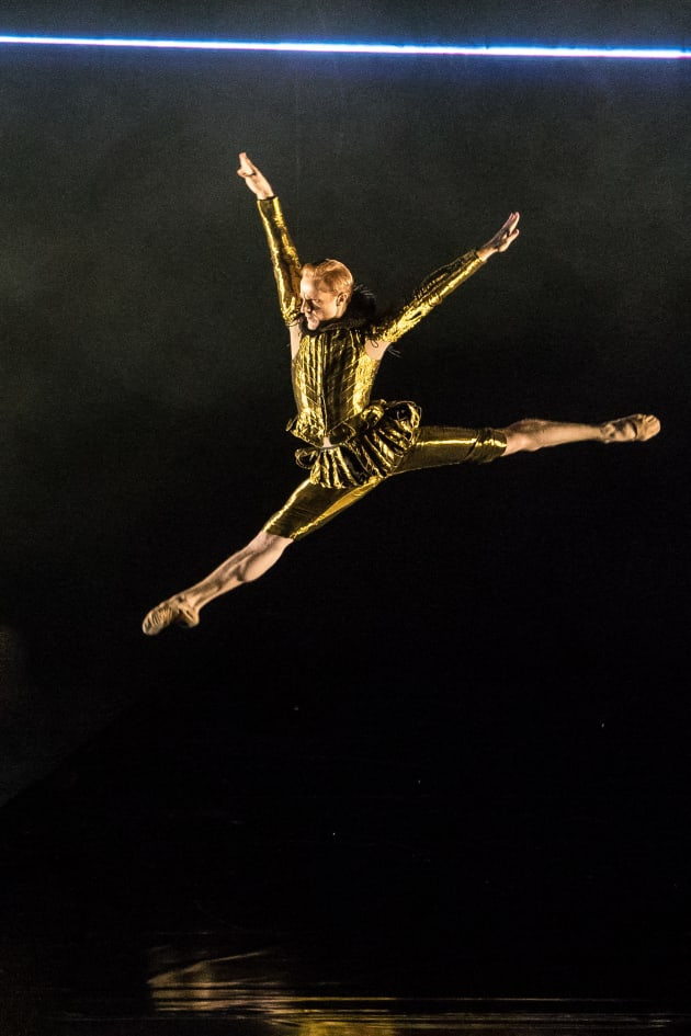 Steven McRae in 'Becomings: From Orlando'. Photo: Darren Thomas
