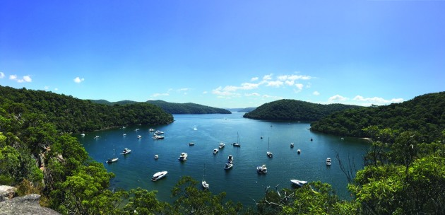 Getting away from it all: Refuge Bay in Ku-ring-gai Chase National Park north of Sydney is a popular boating destination in NSW.