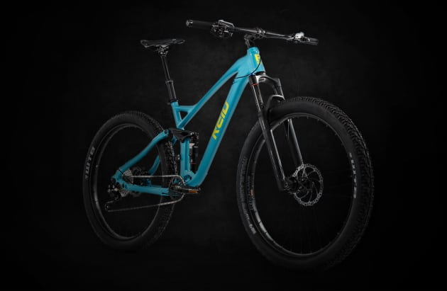 Reid will be entering the full suspension, high spec MTB segment next year with this new model that will retail for over $2,000 making it their most expensive non ebike model to date.