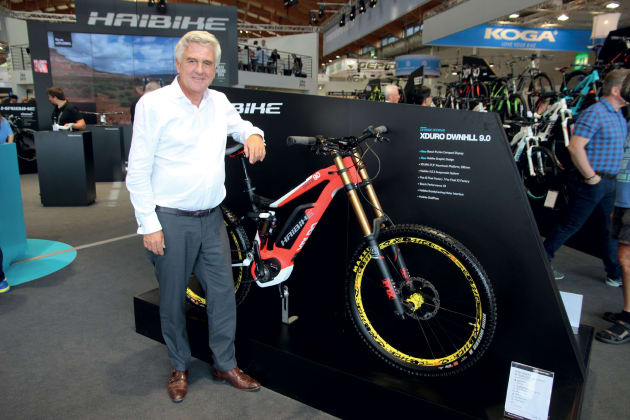 Rene Takens readily admits that he once thought e-mountain bikes were a crazy idea. Now he's riding a sales boom.