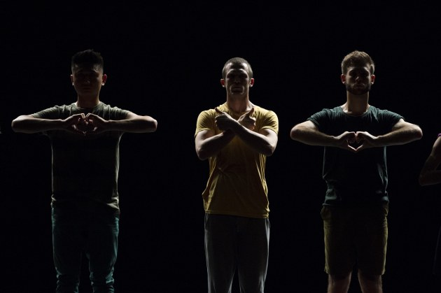 National Dance Forum image by Sydney Dance Company. Gideon Obarzanek's 'L'Chaim!'. Photo: Wendell Teodoro.